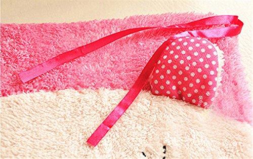 New cute plush cartoon student home seat cushion office chair seat Pad/chair Pad/ Chair Cushion/ Office Cushion/sofa Cushion/Sponge car Cushion (pink rabbit)