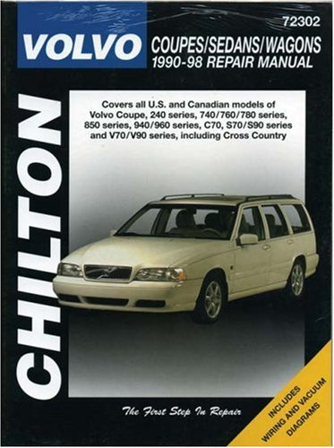 1990 1991 Sedan (Volvo Coupes, Sedans, and Wagons, 1990-98 (Haynes Repair Manuals))
