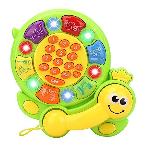 Tortoise Pattern Musical Instruments Kids Cartoon Phone Music Infant Educational Toys