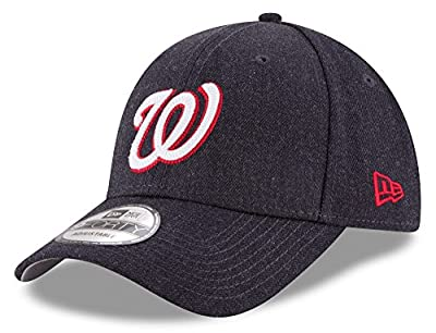 "Washington Nationals New Era 9Forty MLB ""Heather Crisp"" Adjustable Hat"