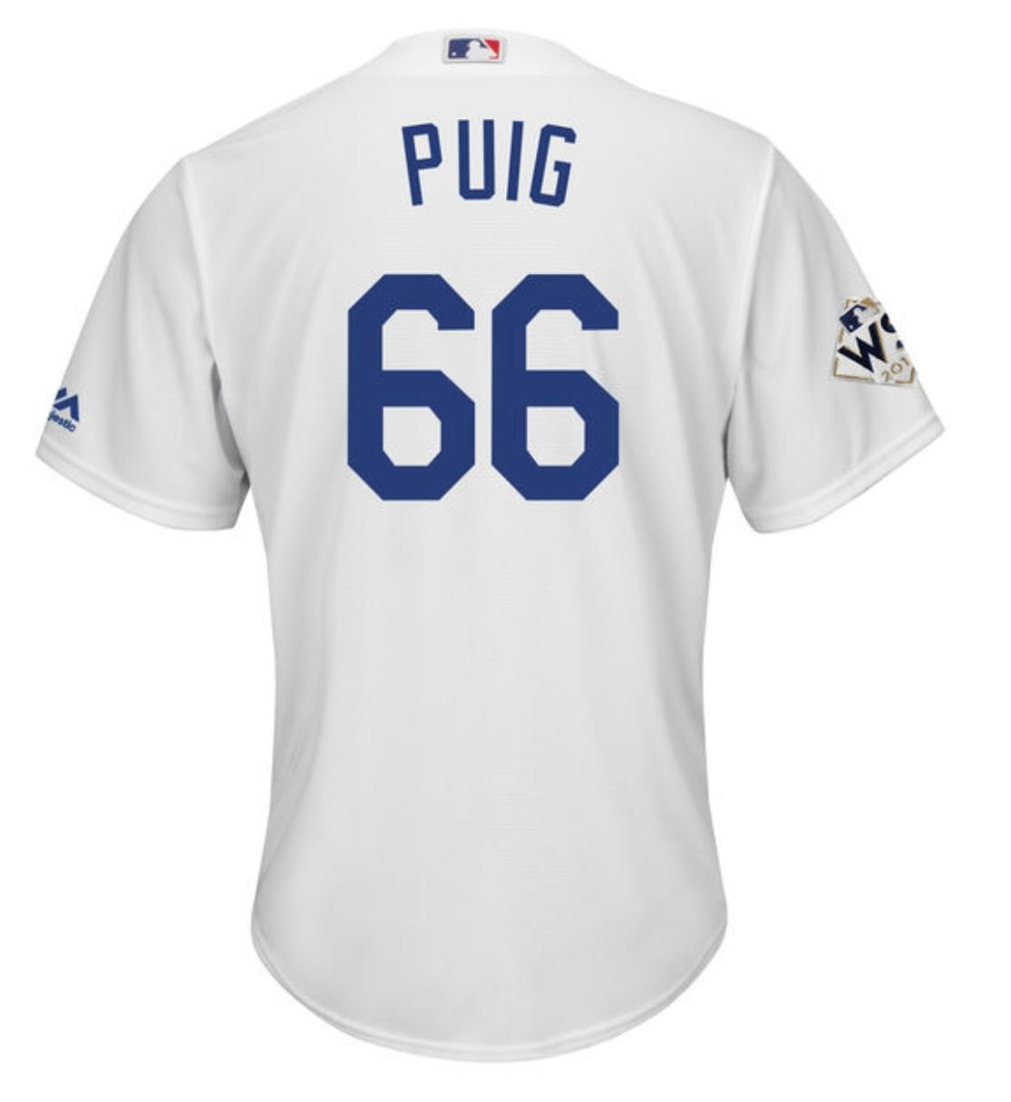 the latest 2afc4 c740d Amazon.com : Yasiel Puig Los Angeles Dodgers World Series ...