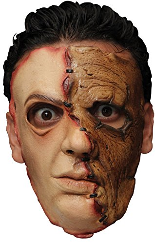 [Serial Killer 31 Latex Face Mask Adult Accessory] (Serial Killer Halloween Costume)