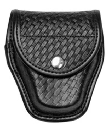 Bianchi AccuMold Elite Chrome Snap 7917 Double Cuff Case (Basketweave Black) ()