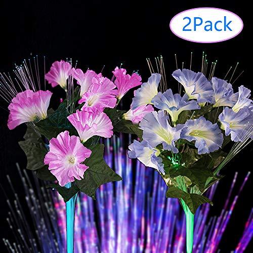 Purple Led Flower Lights in US - 9