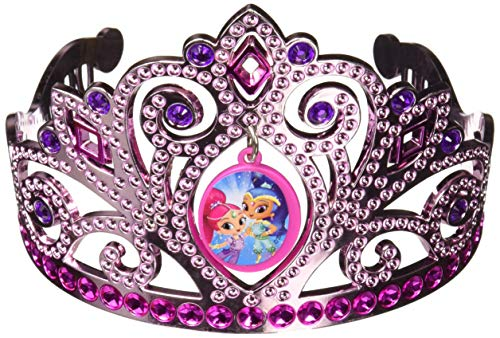 (Amscan Electroplated Tiara, Shimmer & Shine Collection, Party Accessory, Multicolor)