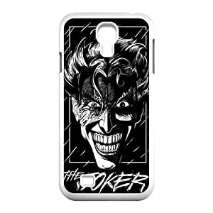 Samsung Galaxy S4 9500 Cell Phone Case White_Insane Stare The Joker Covdb
