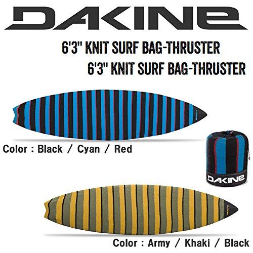 サーフボードケースのおすすめ DAKINE(ダカイン) ニットサーフボードケース ショートボード用