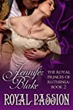 Royal Passion by Jennifer Blake front cover