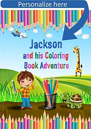 Amazon.com: Coloring Book Personalized - A Coloring Adventure ...