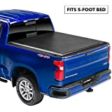 Lund 96086 Genesis Roll Up Truck Bed Tonneau Cover for 2005-2015 Toyota Tacoma   Fits 5' Bed