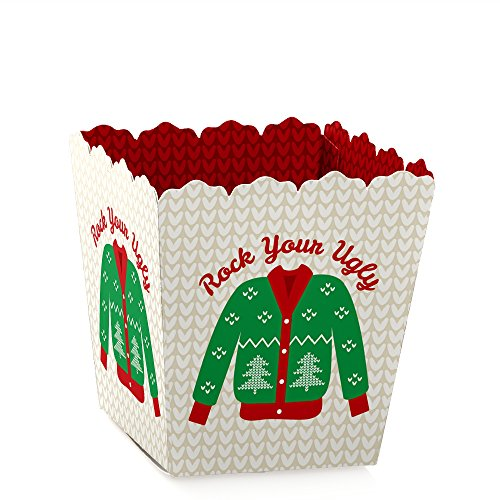 Ugly Sweater - Party Mini Favor Boxes -