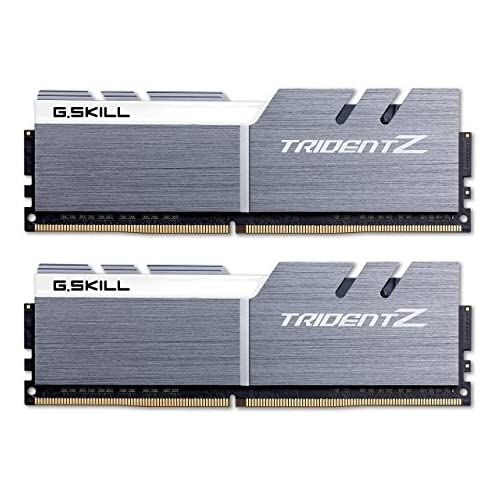 chollos oferta descuentos barato G Skill 16GB DDR4 3200 módulo de Memoria 16 GB 2 x 8 GB DDR4 3200 MHz 288 pin DIMM Plata Blanco