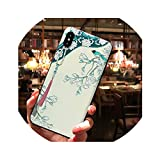Chinese Style Palace Gown Case for iPhone Xs MAX XR for iPhone X 6 6s 6plus 7 Plus 8 Embossed Antique Cover Silicone Capa,L2058841,for iPhone 6 6s
