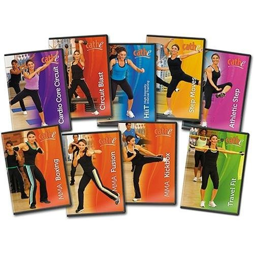 Cathe Friedrich's STS Shock Cardio Bundle Deal: 9 DVDs by Cathe Friedrich's