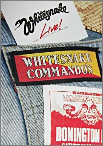 Whitesnake Live Sweet Satisfaction Guaranteed Commando's Donington