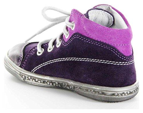 Richter Kinder Lauflerner Violett Metallicleder Mädchen-Schuhe 0322-624-7502 Dandi S Violett