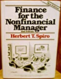 Finance for the Nonfinancial Manager, Herbert T. Spiro, 0471097322