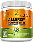 Allergy Immune Supplement for Dogs - with Omega 3 Wild Alaskan Salmon...