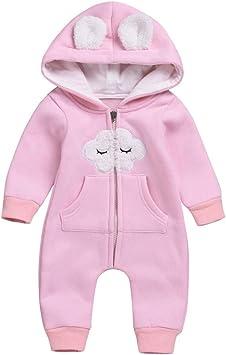 Pour bébé fille 0-3 mois 2 pièces hiver chaud outfit set vêtements de taille choisir