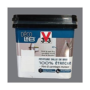 V33 Déco LAB Peinture Salle de bain 100% Etanche Roche ...