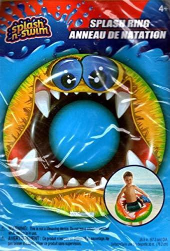Splash-N-Swim – 26.5インチ スイムリング – 水泳の時間を楽しく。