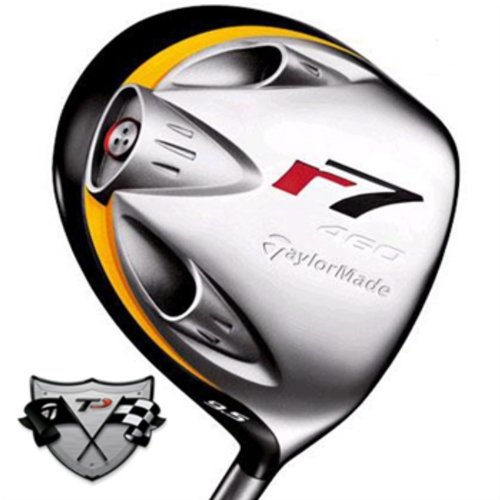 Used Taylormade R7 460 Tp Driver 9.50 Degrees Graphite Stiff Right Handed 44.75