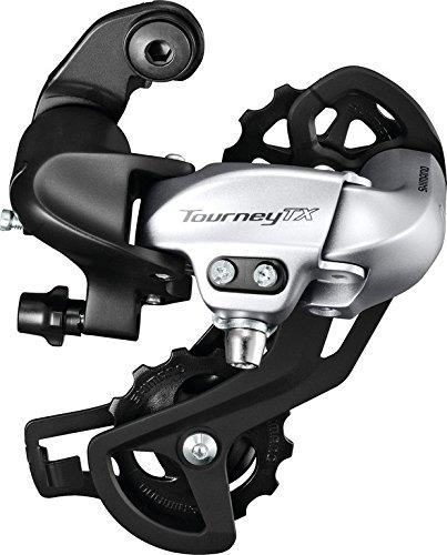 Shimano Fahrrad Schaltwerk Tourney RDTX 800 7/8-fach ohne Adapter silber