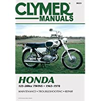 Clymer Honda 125-200cc Twins (1965-1978)