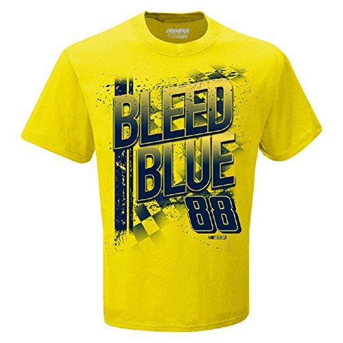 NASCAR Men's Hendrick Motorsports Dale Earnhardt Jr #88 Team Collection-Bleed Blue-Yellow-XXL