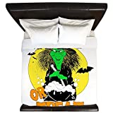 King Duvet Cover Halloween Trick or Treat Witch