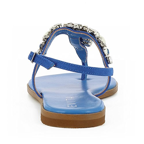Olimpia Royal Daim Femme Shoes Evita Sandale Bleu 7qnx5zx zawpz7