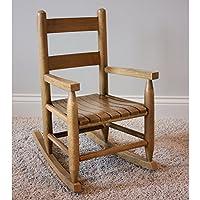 Dixie Seating Company 143398-OG-47433-O-177624 Slat Seat Child Rocker, Medium Oak
