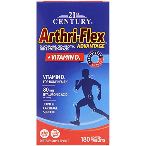 (21st Century, Arthri-Flex Advantage + Vitamin D3, 180 Coated Tablets)