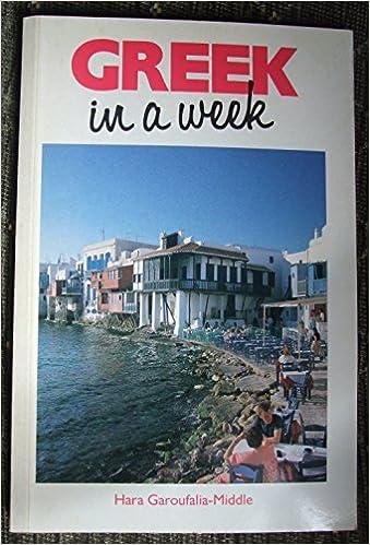 Book Greek in a Week (Headway Books)