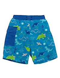 I-Play. Baby Boys' Pocket Trunks with Built-in Reusable Absorbent Swim Diaper