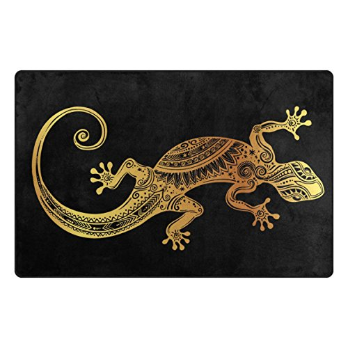 Rug Gecko - ALAZA Gecko Lizard Area Rug 3'3