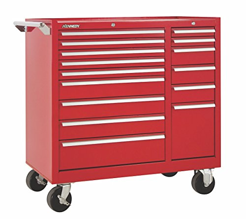 Kennedy Manufacturing 315XR 15-Drawer Rolling Tool Storage/Chest//Box Cabinet/Sliding Drawers, 39