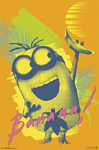 Trends International Minions-Banana Clip Bundle Wall Poster, 22.375
