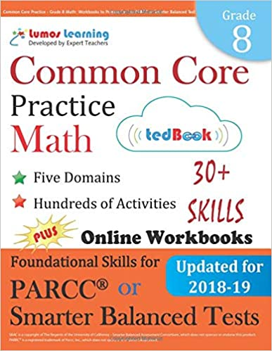 Common Core Practice - Grade 8 Math: Workbooks to Prepare
