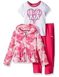 PUMA Girls Girls' Three Piece Micro Fleece Set