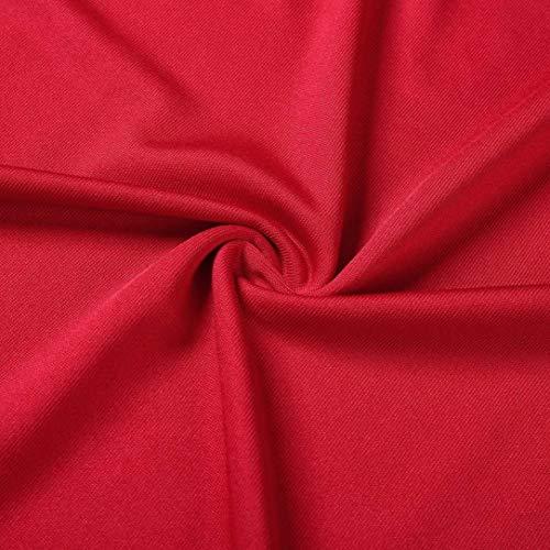 Longues Challeng Coton Noir Patchwork XXL Automne Tunique Taille 5XL Femmes XL Manches Chic Pullover Rouge Chemisier Top Dentelle Femme 3XL 4XL Grande Longue rouge Blouse Chemise L zwpTzrfq
