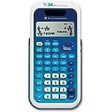 Texas Instruments, Inc TI34MV Scientific Calculator,4-Line,Dual Pwr,3-1/5x6-1/10x3/4,BE
