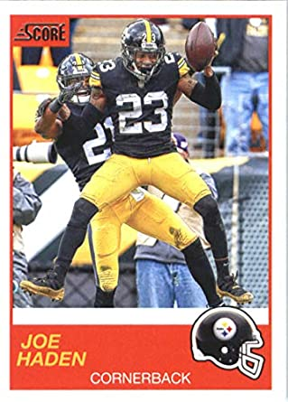 size 40 d123c 3a278 Amazon.com: 2019 Score Football #121 Joe Haden Pittsburgh ...