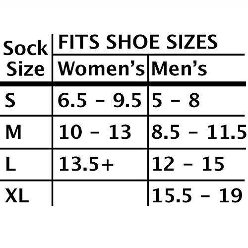 Loose-Fit-Stays-Up-Womens-and-Mens-Socks-3-Pack-Large-White