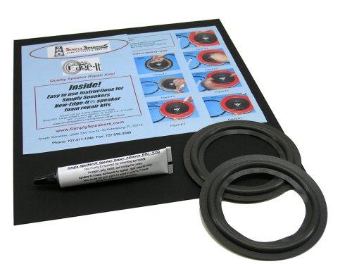 Optimus Speaker Foam Edge Repair Replacement Kit, 5'' Speakers, FSK-5 by Simply Speakers