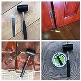 Zog 10 Oz Rubber Hammer Mallet,Rugged Steel Tube