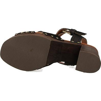 Sandales, color Noir , marca GIOSEPPO, modelo Sandales GIOSEPPO 39072G Noir