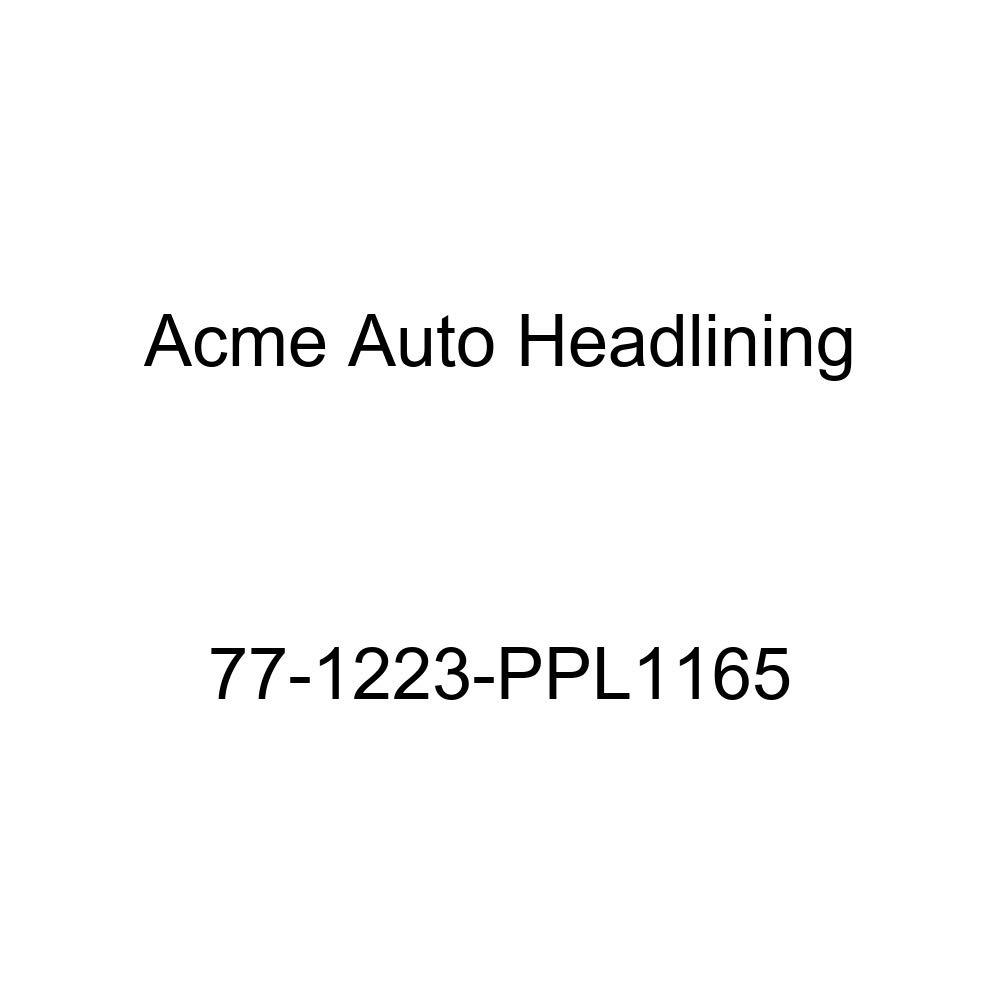 Acme Auto Headlining 77-1223-PPL1165 Black Replacement Headliner 1977 Oldsmobile Cutlass Salon//Supreme 2 Door Coupe 5 Bow