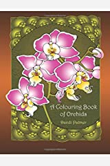 A Colouring Book of Orchids (Coloring Books) Paperback