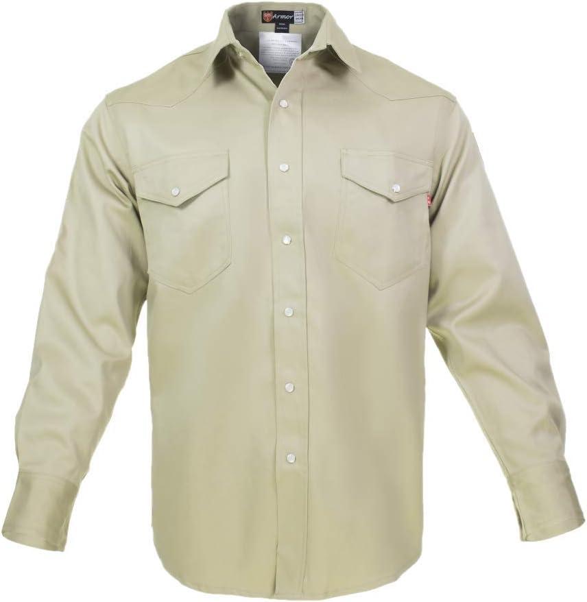 Just In Trend Camisa de Soldadura Resistente al Fuego, 100% C, 9 onzas: Amazon.es: Bricolaje y herramientas